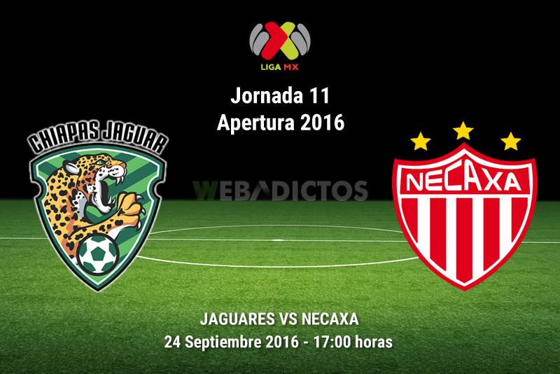 Jaguares vs Necaxa, Jornada 11 del Apertura 2016 | Resultado: 2-2 - jaguares-vs-necaxa-apertura-2016