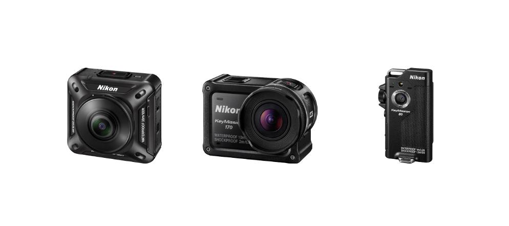 Nikon anuncia la nueva línea de cámaras de acción: KeyMission - keymission-nikon