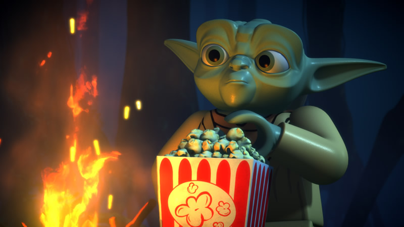 Qué ver en Netflix en Octubre 2016; conoce todos los estrenos destacados del mes - lego-star-wars-netflix
