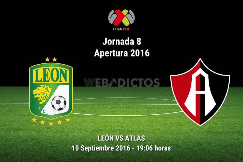 León vs Atlas en la Jornada 8 del Apertura 2016   Resultado: 4-1 - leon-vs-atlas-apertura-2016