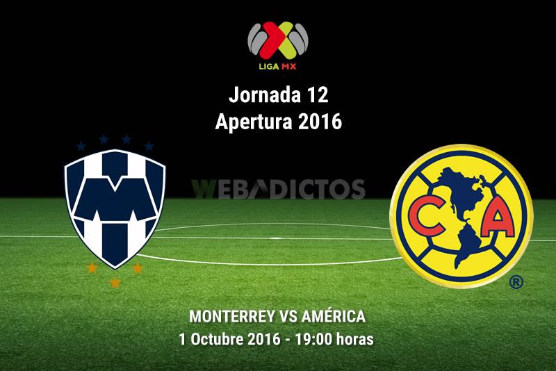 Monterrey vs América, J12 Apertura 2016   Resultado: 1-1 - monterrey-vs-america-apertura-2016