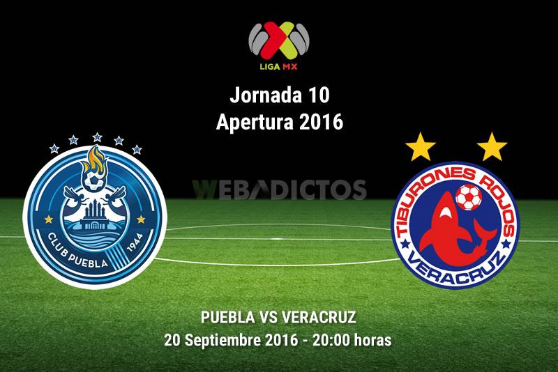 Puebla vs Veracruz, Fecha 10 del Apertura 2016 | Resultado: 3-2 - puebla-vs-veracruz-apertura-2016