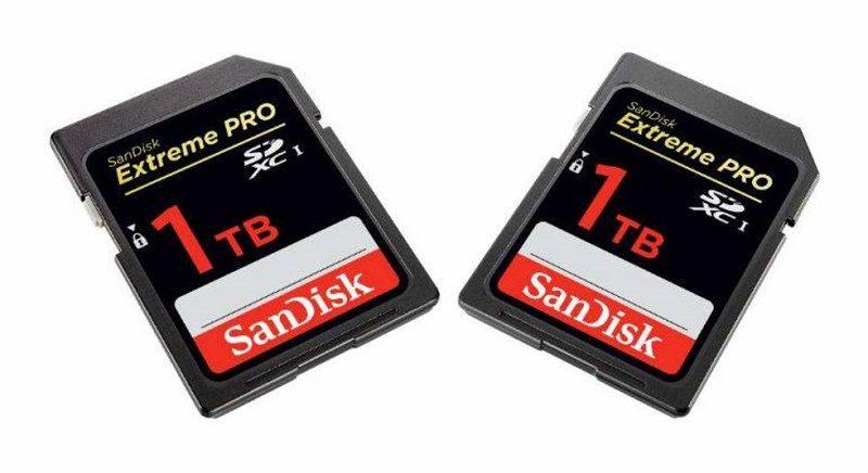 sandisk 1tb 800x436 SanDisk prepara la primera tarjeta SD de 1TB