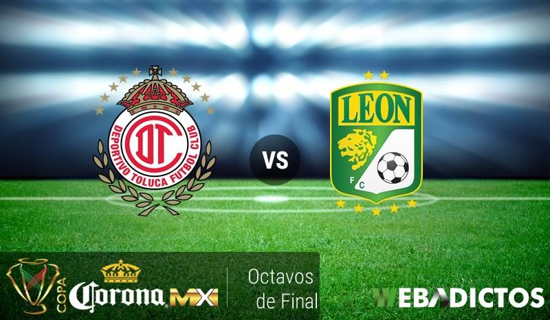 Toluca vs León, Copa MX Apertura 2016   Resultado: 4-3 - toluca-vs-leon-octavos-de-copa-mx-apertura-2016
