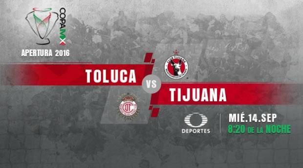 Toluca vs Tijuana, Jornada 6 de la Copa MX A2016   Resultado: 2-1 - toluca-vs-tijuana-en-vivo-copa-mx-apertura-2016