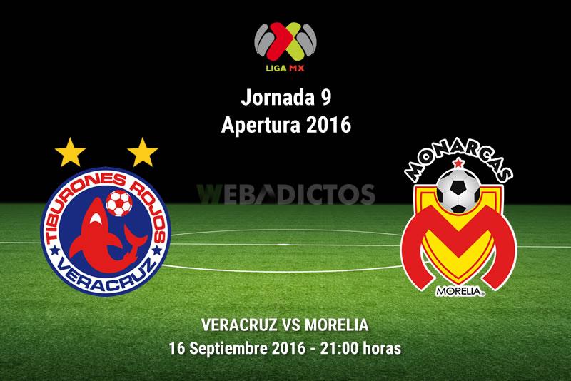 Veracruz vs Morelia, Jornada 9 del Apertura 2016   Resultado: 1-3 - veracruz-vs-morelia-apertura-2016