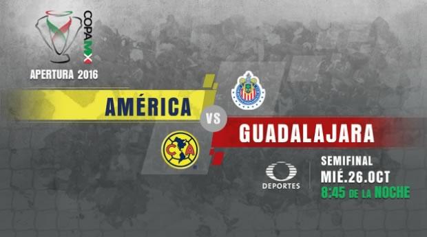 América vs Chivas, Semifinal de Copa MX A2016 | Resultado: 1 (3) - (4) 1 - america-vs-chivas-clasico-copa-mx-apertura-2016