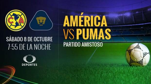 América derrota 1-0 a Pumas en partido amistoso