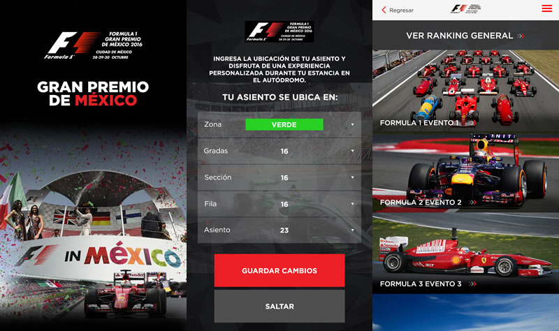 Descarga la app del Formula 1 Gran Premio de México 2016 y disfrútalo al máximo - app-formula-1-mexico-2016