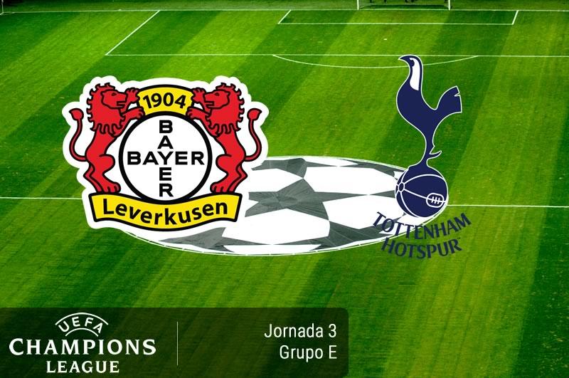 Bayer Leverkusen vs Tottenham, Champions 2016 - 2017   Resultado: 0-0 - bayer-leverkusen-vs-tottenham-champions-league-2016-2017