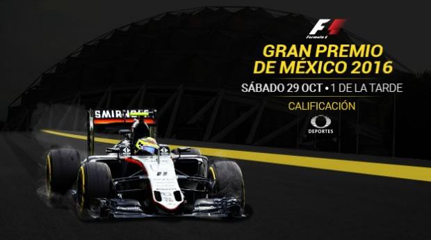 Etapa de calificación del Gran Premio de México 2016 ¡En vivo por internet! | Formula 1 - calificacion-formula-1-gran-premio-de-mexico-internet