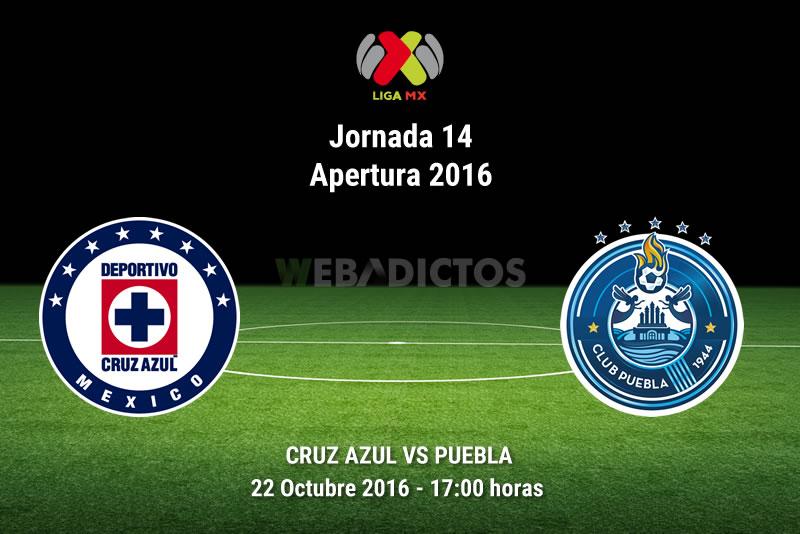 Cruz Azul vs Puebla, Jornada 14 Apertura 2016 | Resultado: 1-2 - cruz-azul-vs-puebla-apertura-2016