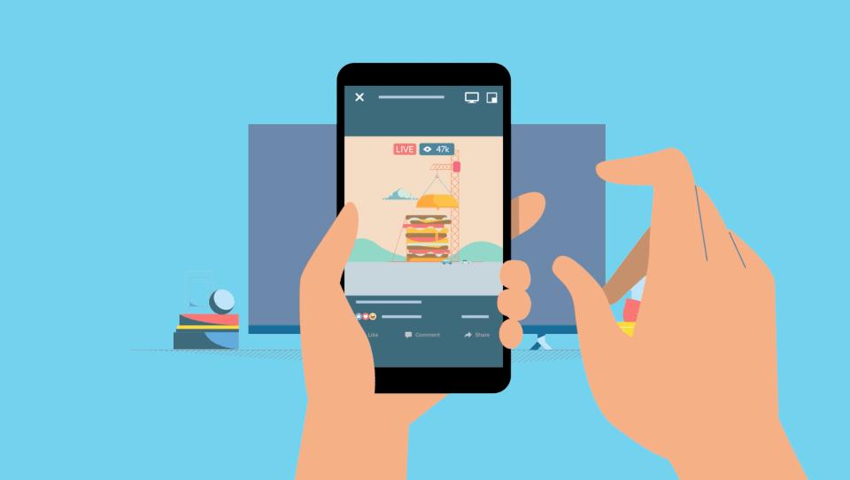Facebook te permitirá ver videos en la TV - facebook-video-cast
