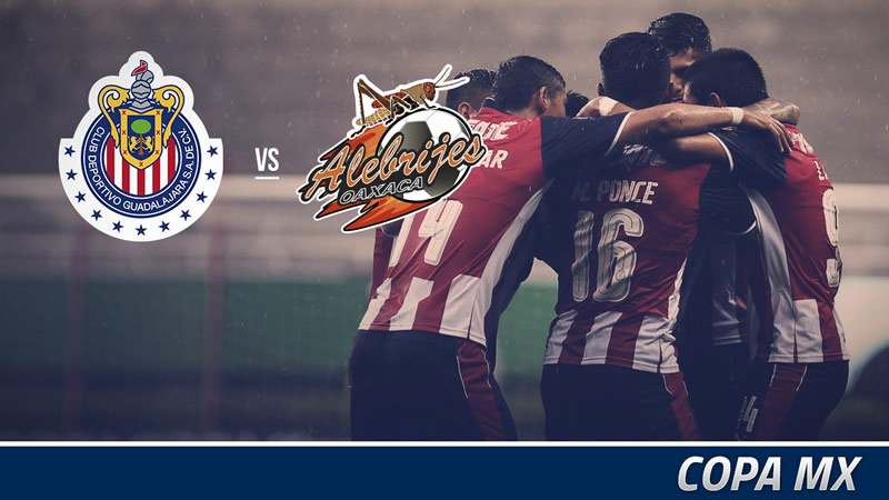 A qué hora juega Chivas vs Alebrijes en la Copa MX A2016 y por dónde verlo - horario-alebrijes-vs-chivas-copa-mx-apertura-2016