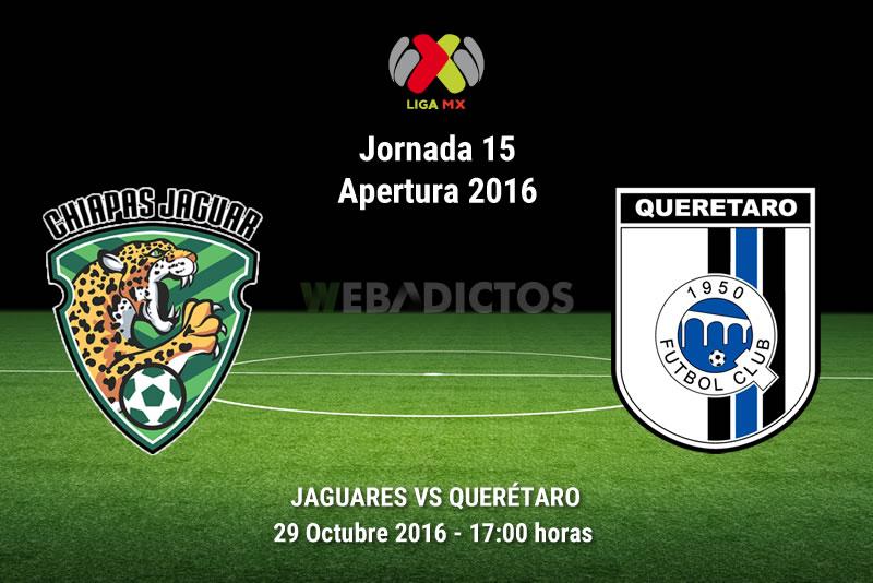 Jaguares vs Querétaro, Jornada 15 del Apertura 2016 | Resultado: 1-2 - jaguares-vs-queretaro-apertura-2016