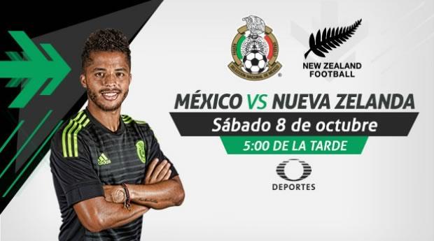 México vs Nueva Zelanda, Amistoso 2016 | 8 de octubre - mexico-vs-nueva-zelanda-2016-en-vivo