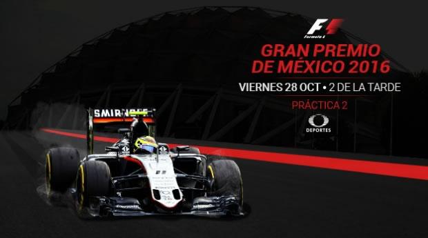 Ve las prácticas del Gran Premio de México 2016 en vivo en tus dispositivos - practica-2-gran-premio-de-mexico-2016