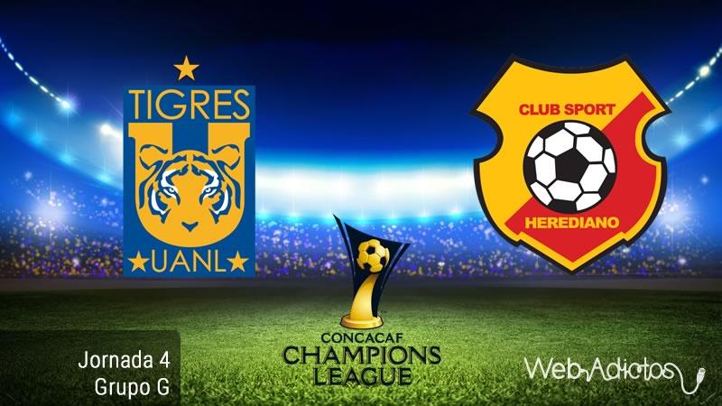 Tigres vs Herediano, Concachampions 2016 - 2017 | Resultado: 3-0 - tigres-vs-herediano-concachampions-2016