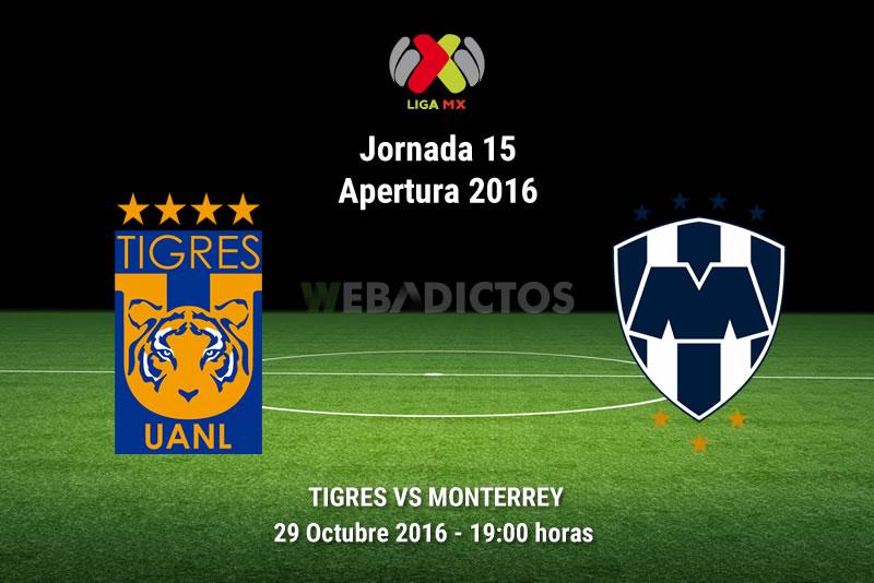 Tigres vs Monterrey, clásico regio en el A2016 | Resultado: 1-1 - tigres-vs-monterrey-apertura-2016