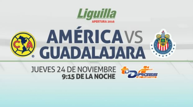 América vs Chivas, Liguilla del Apertura 2016   Resultado: 1-1 - america-vs-chivas-liguilla-a2016-en-vivo