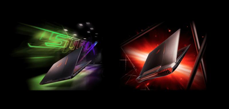 ASUS ROG presenta notebooks gaming G752 y Strix GL502 - asus-gaming-rog-800x381