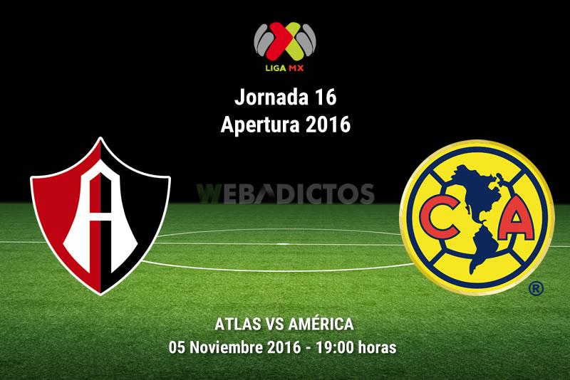 Atlas vs América, Jornada 16 del Apertura 2016 | Resultado: 1-1 - atlas-vs-america-apertura-2016
