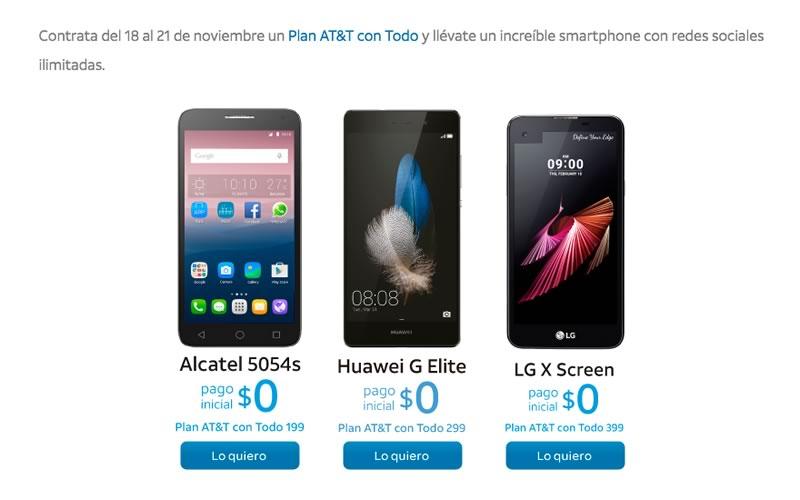 Estas son las promociones de AT&T en El Buen Fin 2016 - celulares-sin-costo-att-buen-fin-2016