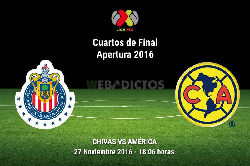 Chivas vs América, Cuartos de Final A2016   Resultado: 0-1 - chivas-vs-america-cuartos-de-final-apertura-2016