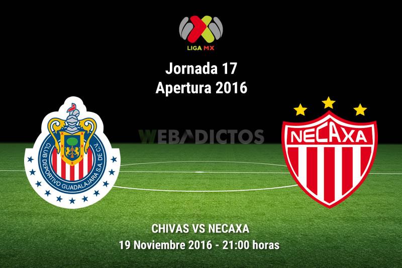 Chivas vs Necaxa, Jornada 17 del Apertura 2016    Resultado: 1-1 - chivas-vs-necaxa-apertura-2016
