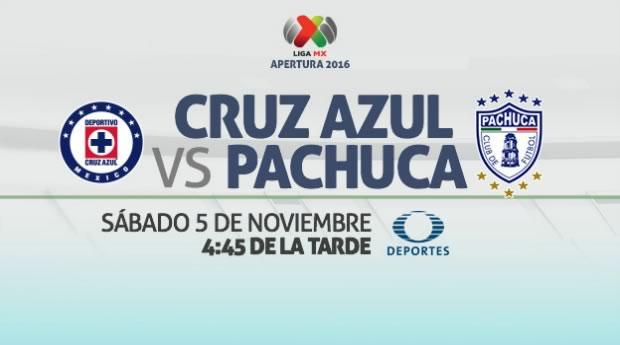 Cruz Azul vs Pachuca, Jornada 16 de la Liga MX   Resultado: 2-1 - cruz-azul-vs-pachuca-internet-apertura-2016