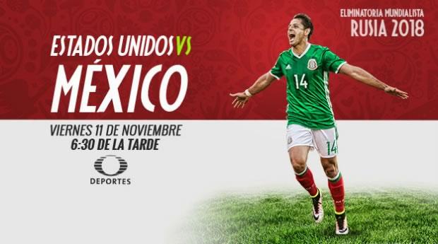 México vs Estados Unidos 2016, Hexagonal CONCACAF | Resultado: 2-1 - estados-unidos-vs-mexico-2016-televisa-deportes