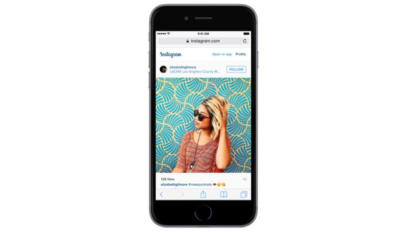 Instagram confirma su función de video en vivo - instagram-web-view