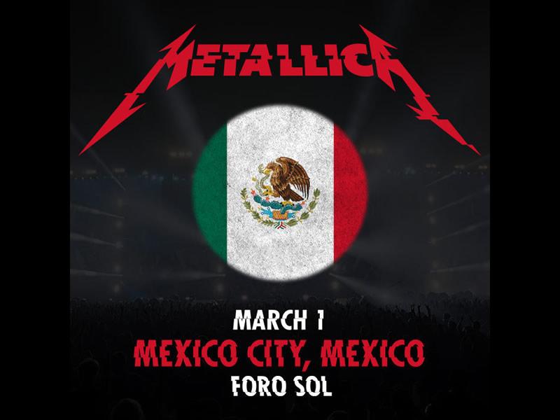 Metallica en México junto con Iggy Pop en 2017 - metallica-en-mexico-2017