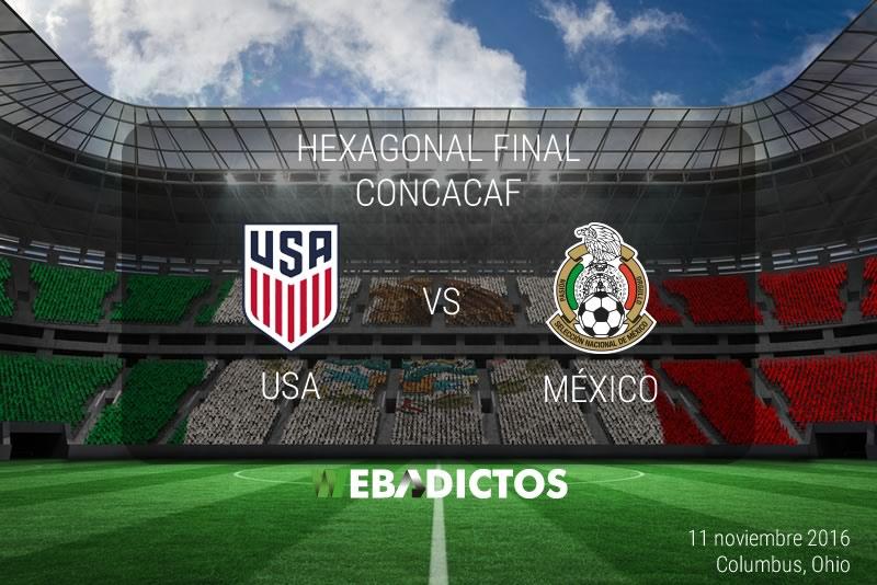 México vs Estados Unidos 2016, Hexagonal CONCACAF | Resultado: 2-1 - mexico-vs-estados-unidos-2016-concacaf