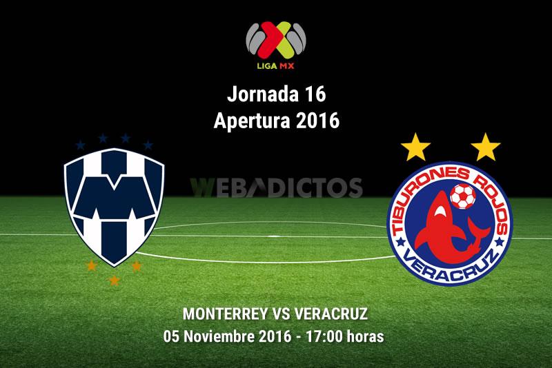 Monterrey vs Veracruz, Jornada 16 del Apertura 2016 | Resultado: 4-0 - monterrey-vs-veracruz-apertura-2016