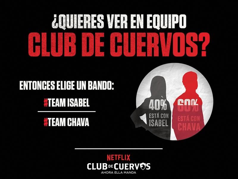 Fans de Club de Cuervos prefieren ver la segunda temporada en equipo - netflix-club-de-cuervos-2-maraton