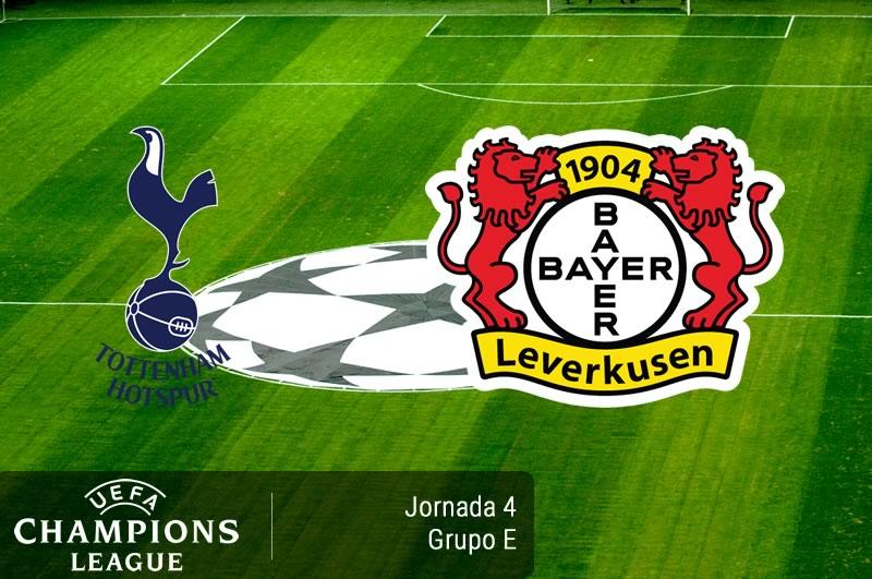 Tottenham vs Bayer Leverkusen, Champions 2016   Resultado: 0-1 - tottenham-vs-bayer-leverkusen-champions-league-2016-2017