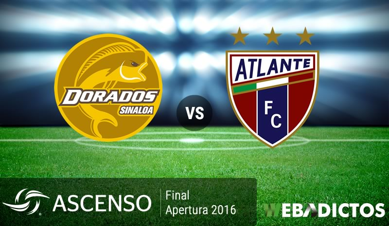 Dorados vs Atlante, Final del Ascenso MX A2016 | Resultado: 1-0 - dorados-vs-atlante-final-de-ascenso-mx-apertura-2016