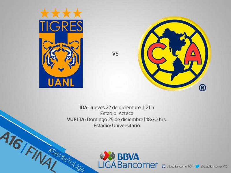 Final de la Liga MX A2016: fechas, horarios y canales de transmisión - final-liga-mx-apertura-2016-horarios