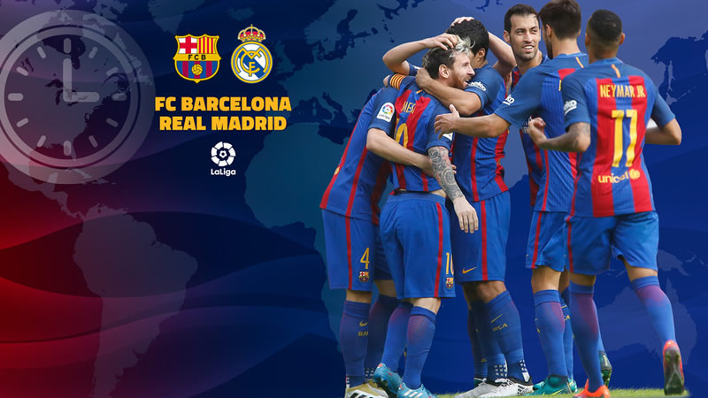 Barcelona vs Real Madrid, J14 de La Liga 2016/17 | Resultado: 1-1 - horario-barcelona-vs-real-madrid-2016-jornada-14