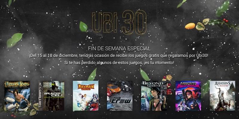 Descarga juegos gratis de Ubisoft hasta el 18 de diciembre ¡Aprovecha! - juegos-gratis-pc-ubisoft