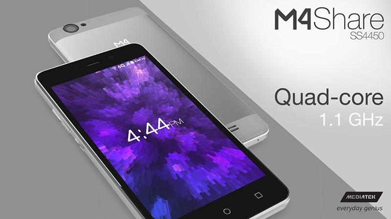 M4 y Mediatek lanzan el smartphone M4Share SS4450 4G LTE - m4share-ss4450-4g-lte