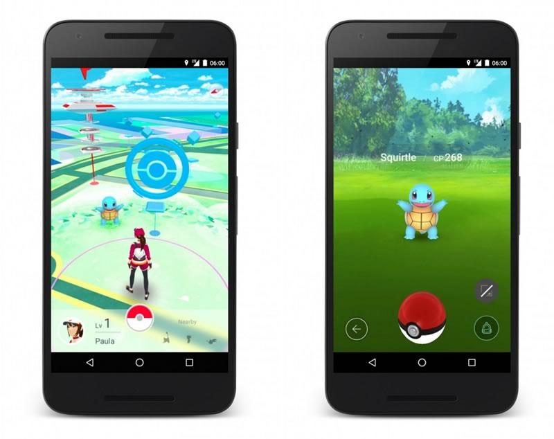 Los mejores juegos para Android en 2016 - pokemon-go-android