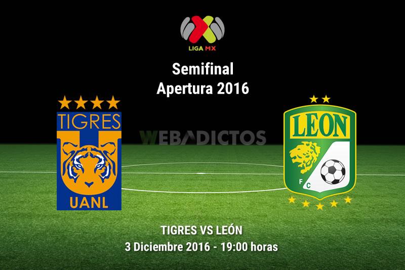 Tigres vs León, Semifinal Apertura 2016    Resultado: 2-1 - tigres-vs-leon-semifinal-apertura-2016