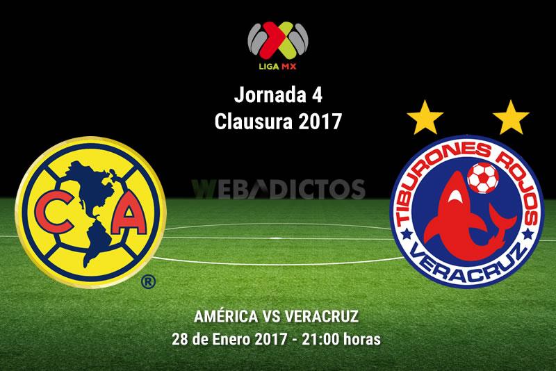 América vs Veracruz, Jornada 4 Clausura 2017 | Resultado: 1-0 - america-vs-veracruz-j4-clausura-2017