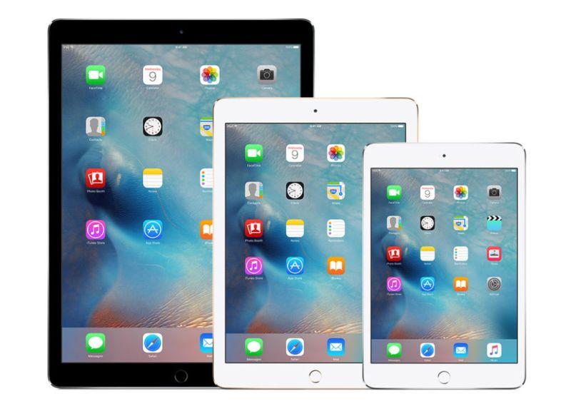 Apple presentará sus nuevas iPad en la segunda mitad del 2017 - apple-ipad