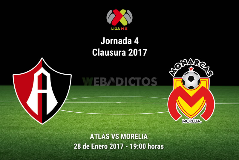 Atlas vs Morelia, Jornada 4 Clausura 2017 | Resultado: 3-1 - atlas-vs-morelia-j4-clausura-2017