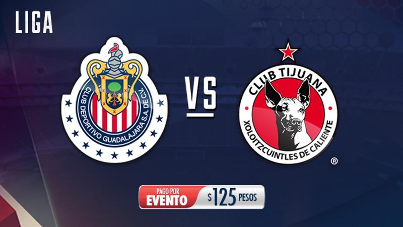 Chivas vs Tijuana, Jornada 3 Clausura 2017 | Resultado: 0-1 - chivas-vs-tijuana-chivas-tv
