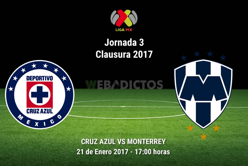 Cruz Azul vs Monterrey, Jornada 3 del Clausura 2017   Resultado: 2-2 - cruz-azul-vs-monterrey-j3-clausura-2017