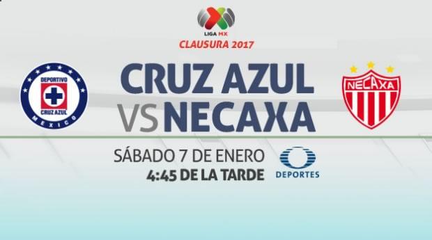 cruz azul vs necaxa clausura 2017 jornada 1 Cruz Azul vs Necaxa, Jornada 1 Clausura 2017 | Resultado: 1 0